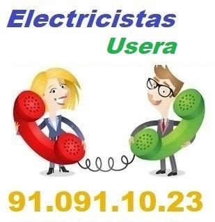 Telefono de la empresa electricistas Usera